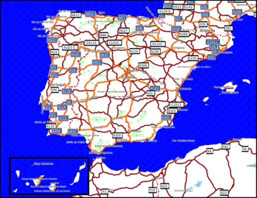 Topo Hispania 2.04