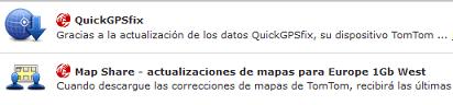 Actualizar QuickGPSfix