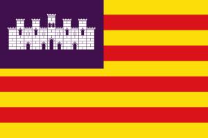 Bandera de las Islas Baleares