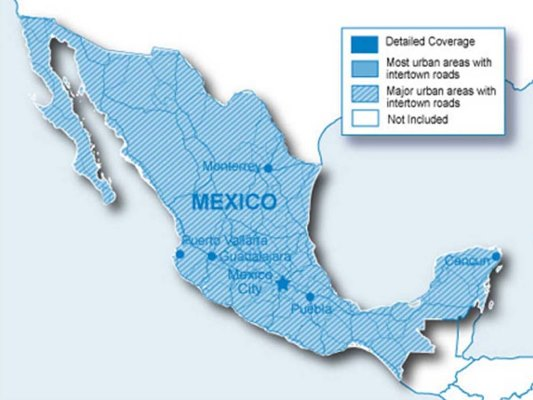 City Navigator Mexico NT