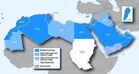 City Navigator Middle East & North Africa