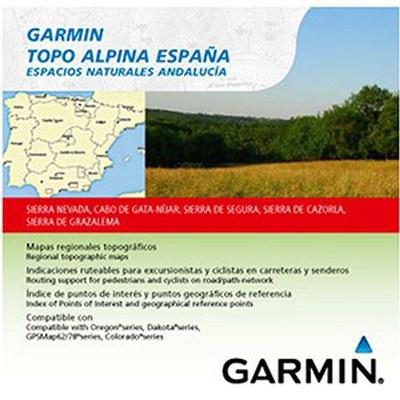 Topo Alpina Espacios Naturales Andalucía