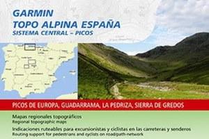 Topo Alpina Sistema Central Picos