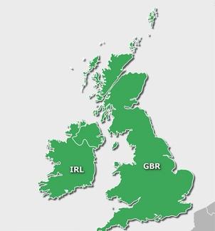 Topo UK and Ireland